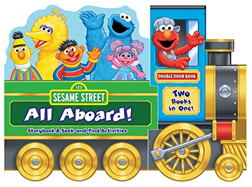 9780794433291: Sesame Street: All Aboard!: Storybook & Seek-and-Find Activities