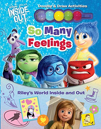 9780794433871: Disney Pixar Inside Out: So Many Feelings: Riley's World Inside and Out