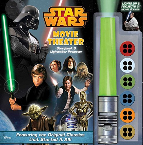 9780794434946: Star Wars Movie Theater Storybook & Lightsaber Projector
