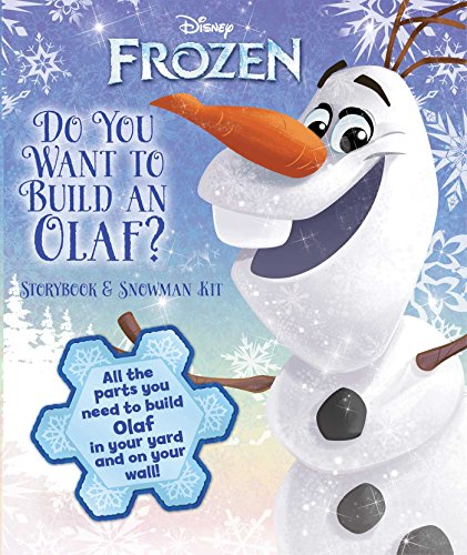 9780794435028: Disney Frozen: Do You Want to Build an Olaf?: Storybook & Snowman Kit