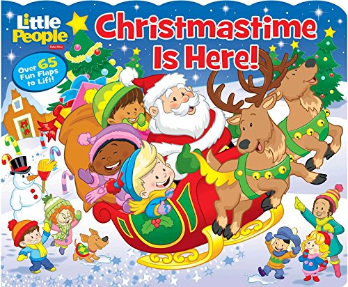 9780794435349: Fisher-Price Little People Christmastime Is Here