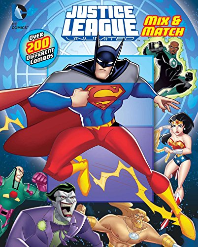 9780794435714: DC Justice League: Mix & Match
