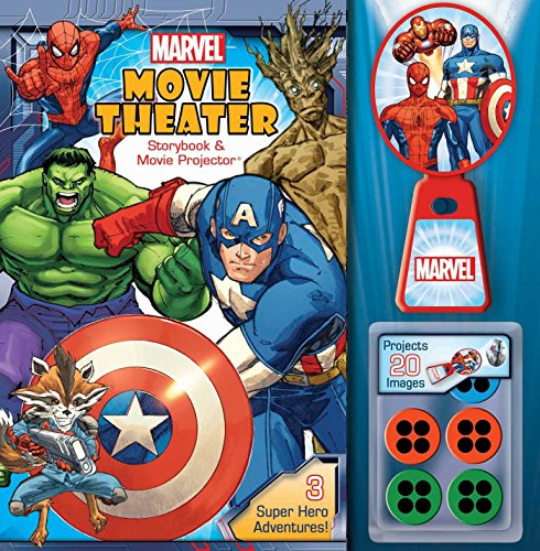 9780794437282: Marvel Movie Theater Storybook & Movie Projector