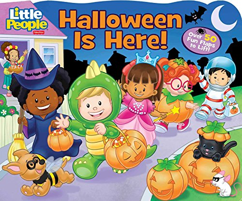 9780794437565: Fisher-Price Little People: Halloween Is Here! (Little People Fisher-Price)
