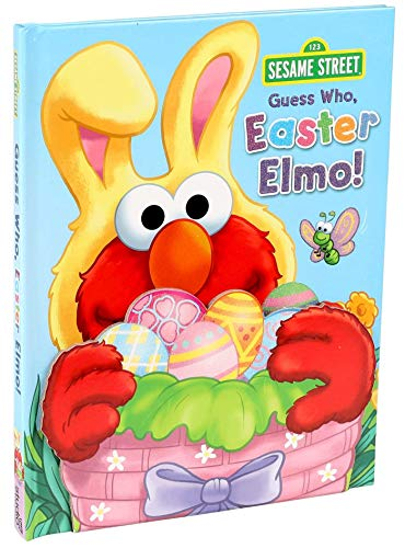 Sesame Street: Guess Who, Easter Elmo! (Guess Who! Book) 9780794441975 The newest title in the best-selling Guess Who series features Elmo dressed as the Easter Bunny and glitter accents on the cover! Each s