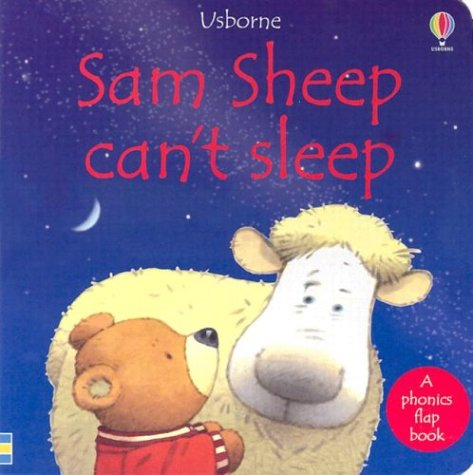 9780794500603: Sam Sheep Can't Sleep (Usborne Phonics Books)