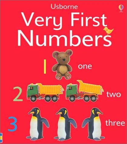 9780794500955: Very First Numbers (Usborne First Words Board Books)