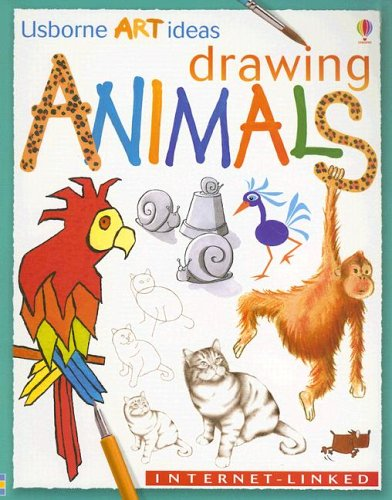 9780794501099: Drawing Animals: Internet-Linked (Usborne Art Ideas)