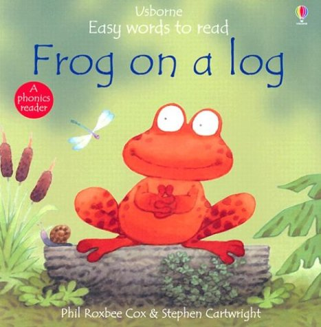 9780794501143: Frog on a Log (Usborne Easy Words to Read Series)