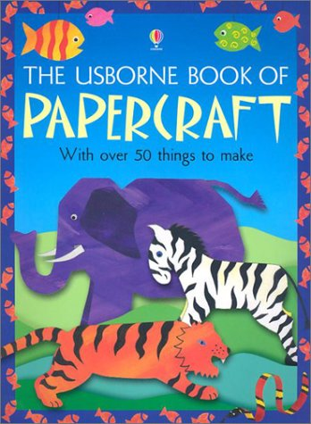 9780794501402: The Usborne Book of Papercraft (Craft Books)