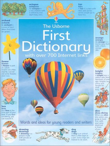 9780794501457: First Dictionary With over 700 Internet Links