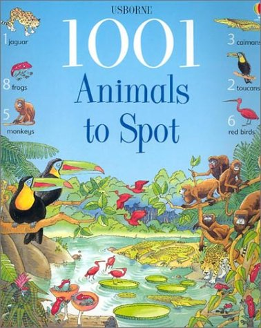 9780794501495: 1001 Animals to Spot (Usborne 1001 Things to Spot)