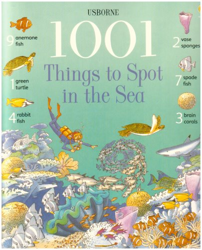 9780794502294: 1001 Things to Spot in the Sea (Usborne 1001 Things to Spot)