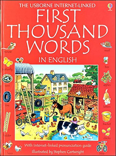 First Thousand Words (Usborne First Thousand Words)
