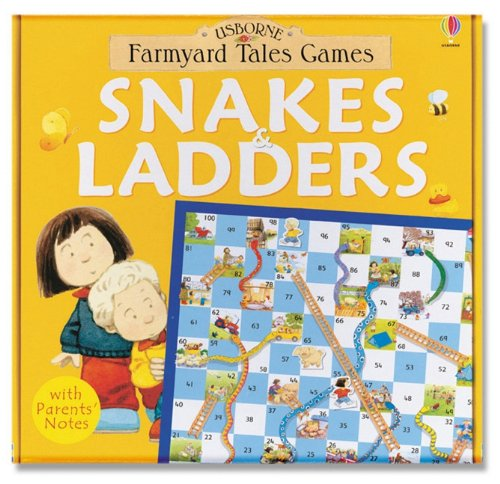 9780794503123: Snakes and Ladders [With Dice and Gameboard] (Farmyard Tales Games)