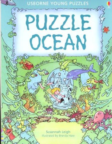 9780794504366: Puzzle Ocean (Usborne Young Puzzle Books)