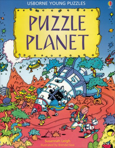 Puzzle Planet (Usborne Young Puzzles) (079450437X) by Leigh, Susannah