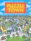 9780794504380: Puzzle Town (Usborne Young Puzzle Books)