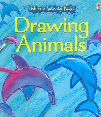 9780794504564: Drawing Animals [With Attached Book and Crayons and Paint Pots] (Usborne Activity Packs)