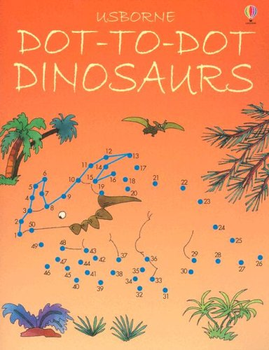 9780794504915: Dot-To-Dot Dinosaurs