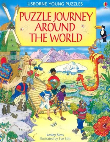 9780794505103: Puzzle Journey Around the World (Usborne Young Puzzles)