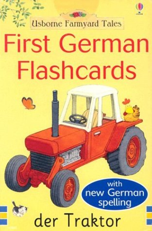 9780794505219: First German Flashcards (Farmyard Tales First Words Flashcards)