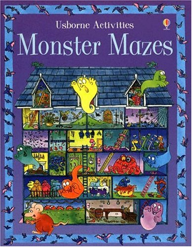 Monster Mazes (Usborne Activities) (0794505368) by Blundell, Kim; Tyler, Jenny