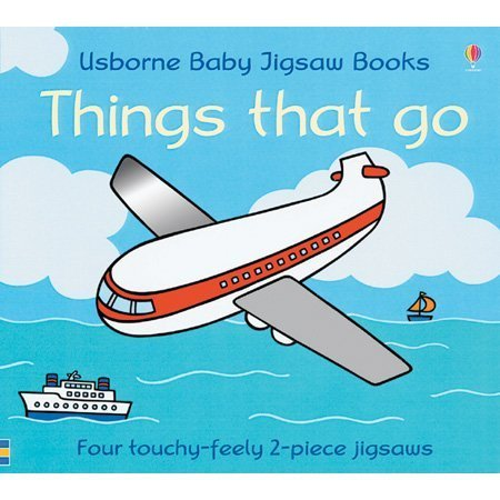 9780794506223: Things That Go (Usborne Baby Jigsaw Books)