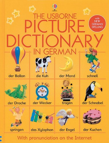 9780794507046: Usborne Picture Dictionary in German