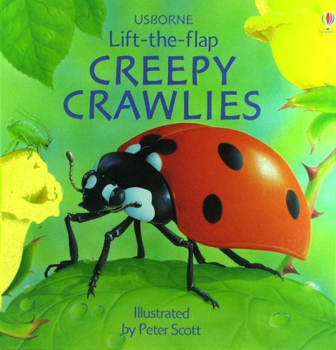 9780794507633: Creepy Crawlies (Usborne Lift-The-Flap)