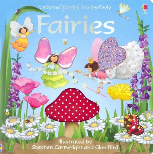 9780794508111: Usborne Sparkly Touchy-feely Fairies