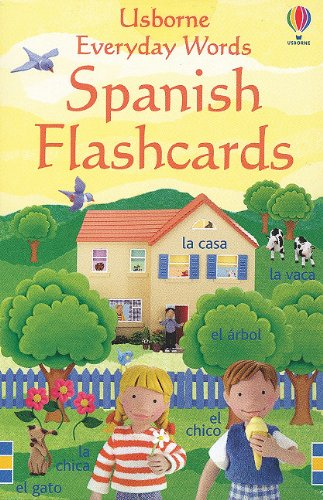 9780794508845: Everyday Words Spanish Flashcards (Usborne Everyday Words)