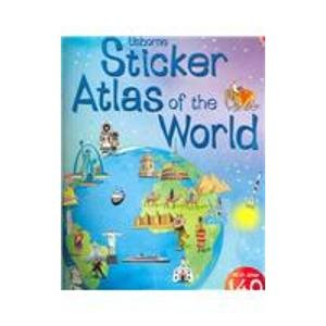 9780794509118: Sticker Atlas of the World - Internet Referenced (Sticker Atlases)