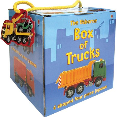 Box of Trucks (Boxed Jigsaws)