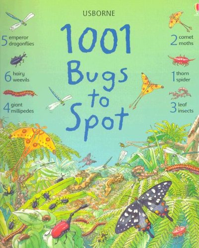 9780794510008: 1001 Bugs To Spot (Usborne 1001 Things to Spot)