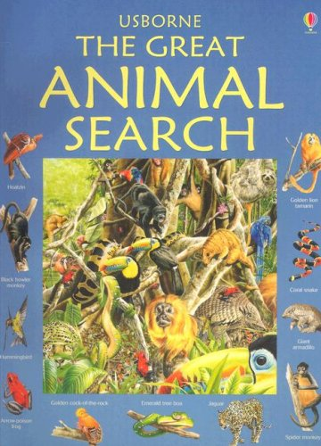 9780794510282: The Great Animal Search (Great Searches - New Format)