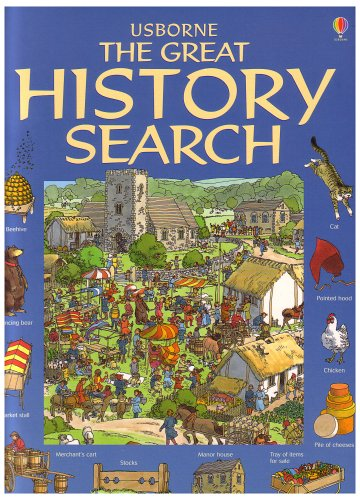 Usborne the Great History Search (Great Searches): Kamini Khanduri; Editor-Felicity