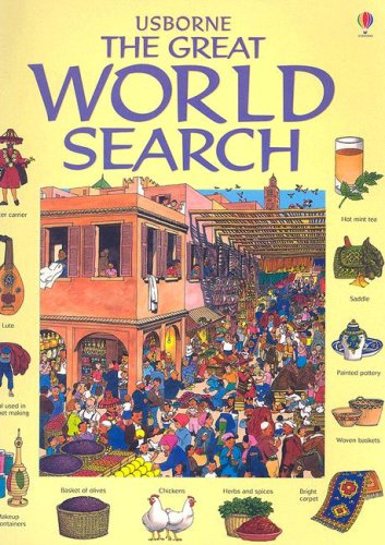 Usborne the Great World Search (Great Searches: Kamini Khanduri; Illustrator-David