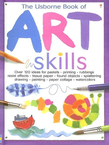 9780794511104: The Usborne Book of Art Skills