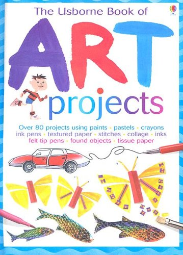 9780794511111: The Usborne Book of Art Projects (Miniature Editions)