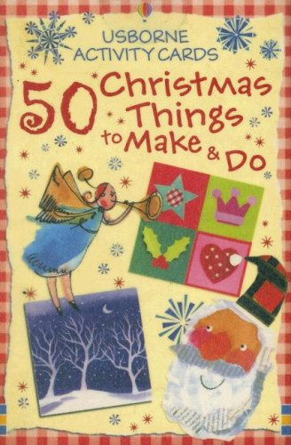 9780794512170: 50 Christmas Things to Make and Do (Usborne Activity Cards)