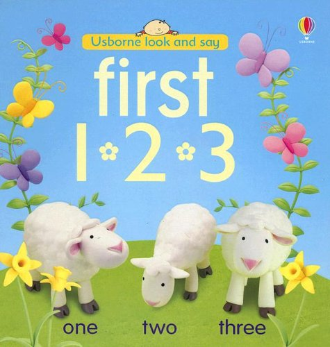 9780794512194: First 1-2-3 (Usborne Look And Say)