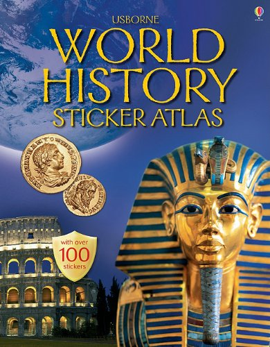 9780794512446: World History Sticker Atlas: Internet Referenced (Sticker Atlases)