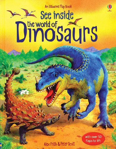 9780794514365: See Inside the World of Dinosaurs