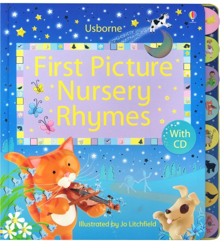 9780794514891: First Picture Nursery Rhymes with CD (First Picture Board Books)