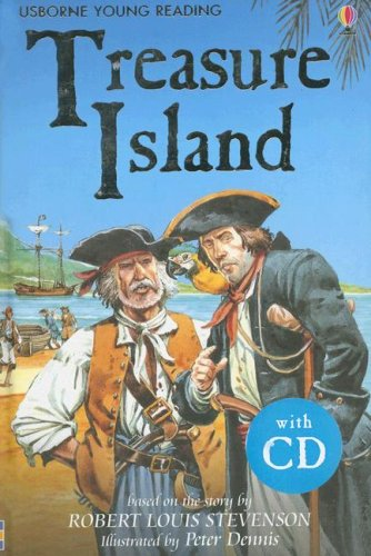 9780794515430: Treasure Island [With CD] (Usborne Young Reading: Series Two)