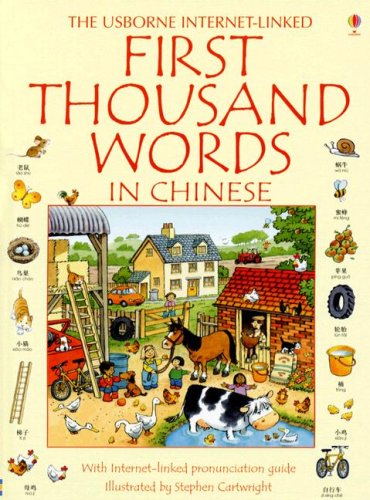 9780794515508: The Usborne Internet-Linked First Thousand Words in Chinese (Chinese Edition)