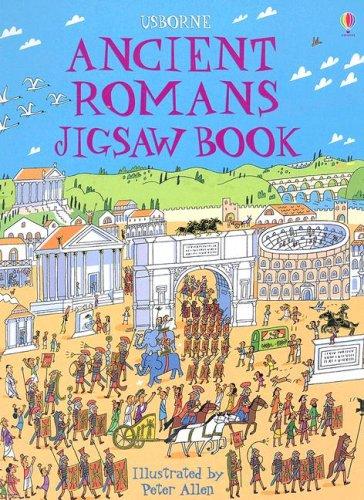 9780794515911: Ancient Romans Jigsaw Book (Usborne Luxury Jigsaw Books)