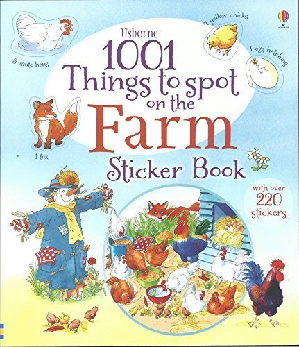 9780794516024: 1001 Things to Spot on the Farm Sticker Book (1001 Things to Spot Sticker Books)