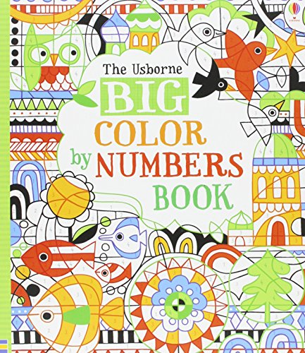 9780794516062: Big Color by Numbers Book